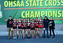 Girls' Cross Country Competes at State Championship