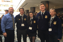 FUHS Forestry Team Competes at Nationals