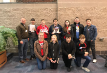 MATH COUNTS TEAM COMPETES AT OU-Z