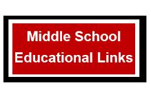 Middle School Educational Links