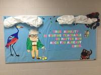 Art Class Inspiration Bulletin Board