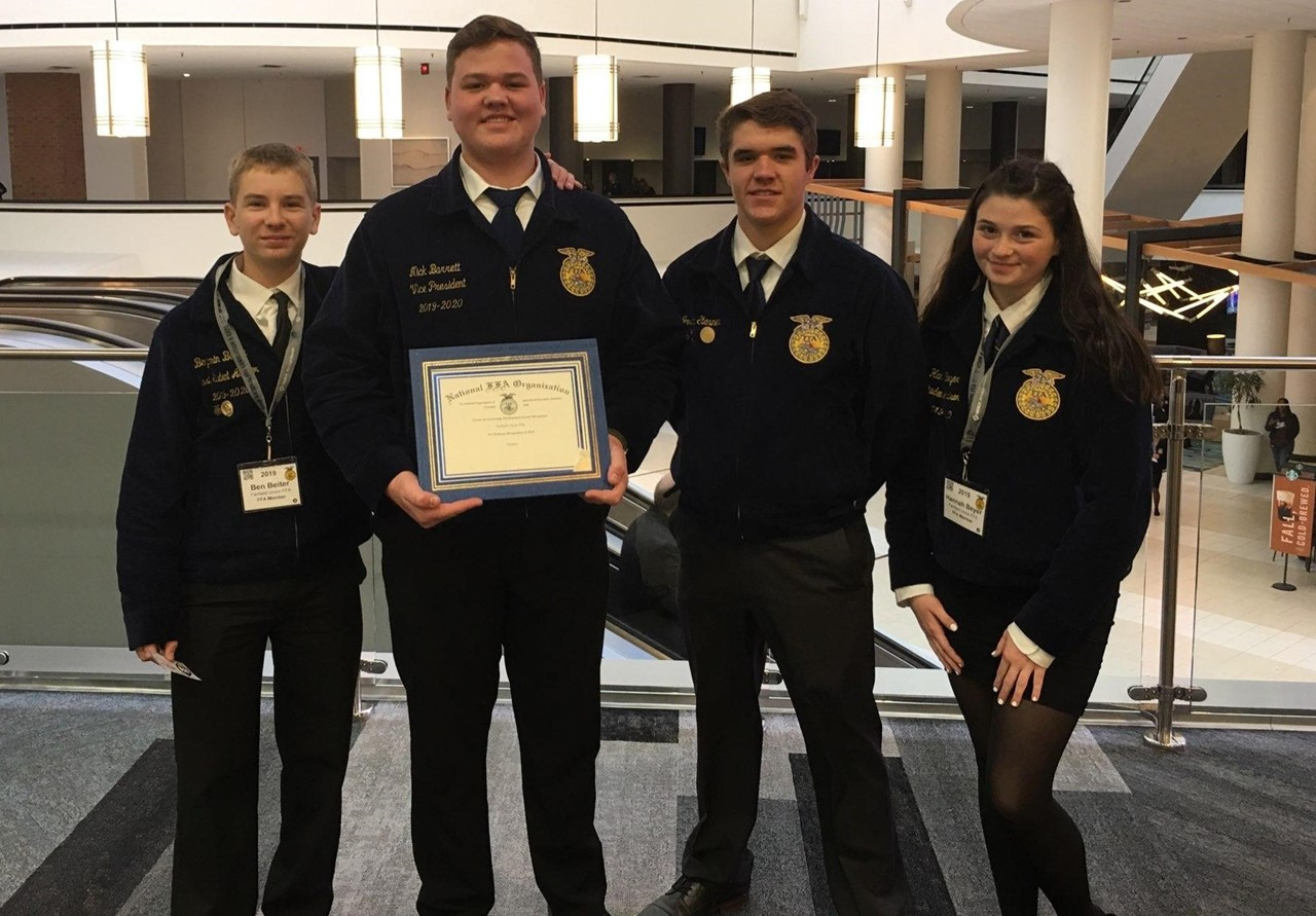 FUHS Forestry Team at National Convention