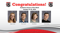 Academic Falcons 10/21/19
