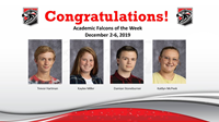 Academic Falcons 12 2 2019