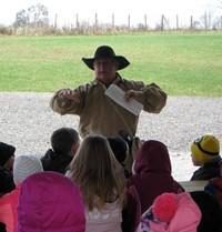 Mr. Dale Ferbrache teaching students