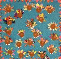 3rd Grade Folk Art Turkeys