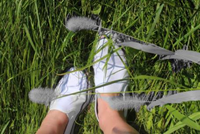 Cultural Study picture - Feet in the grass