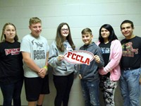FCCLA Class Officers of 2017-18