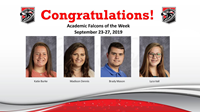 Academic Falcons 9/23/2019