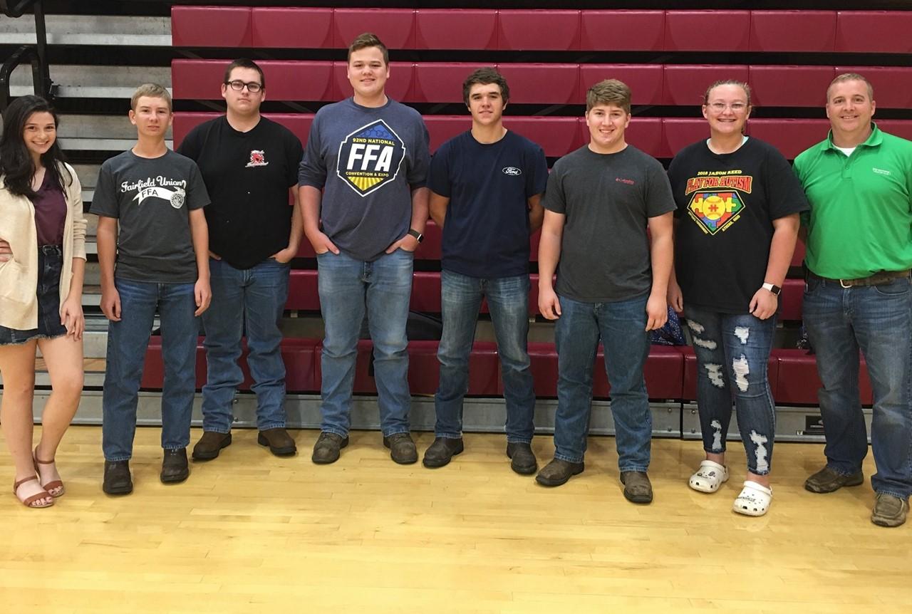 FUHS Forestry Team