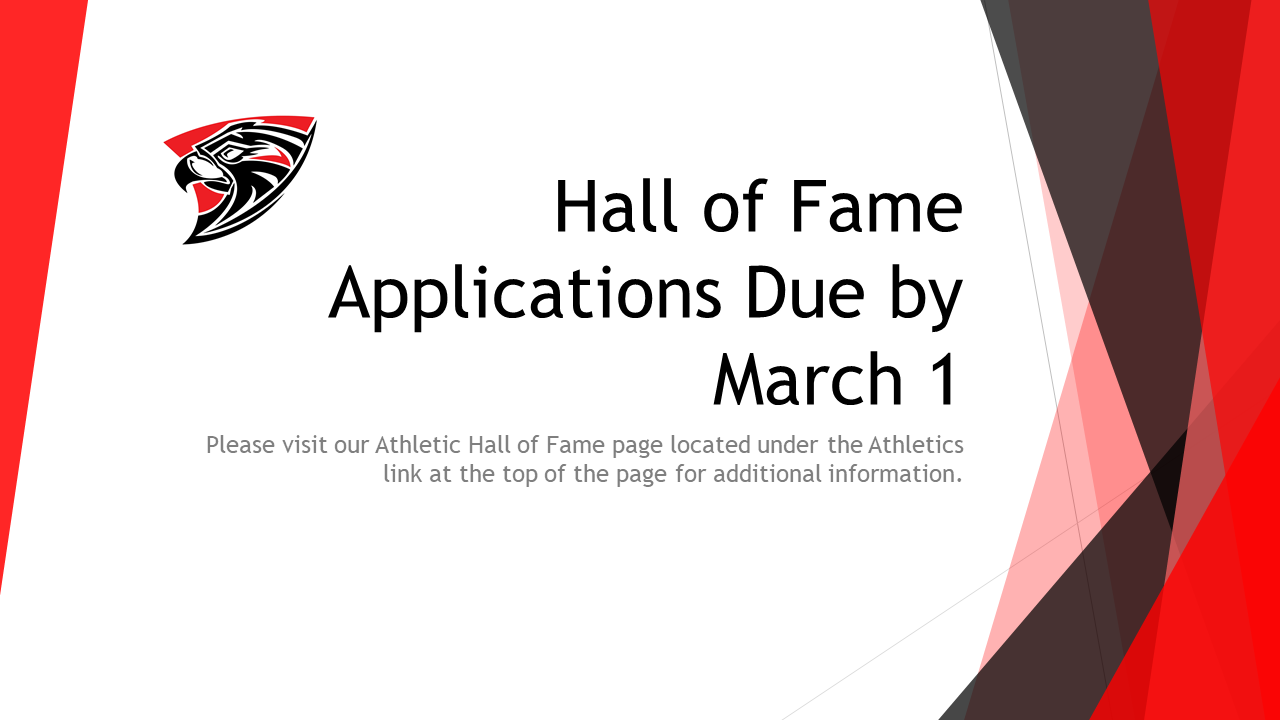 Hall of Fame Information