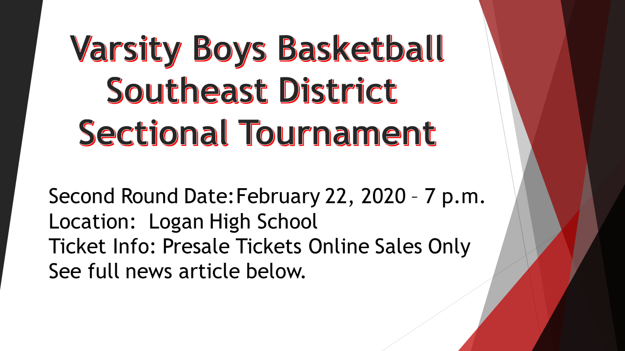Boys Basketball Sectional Tournament Information