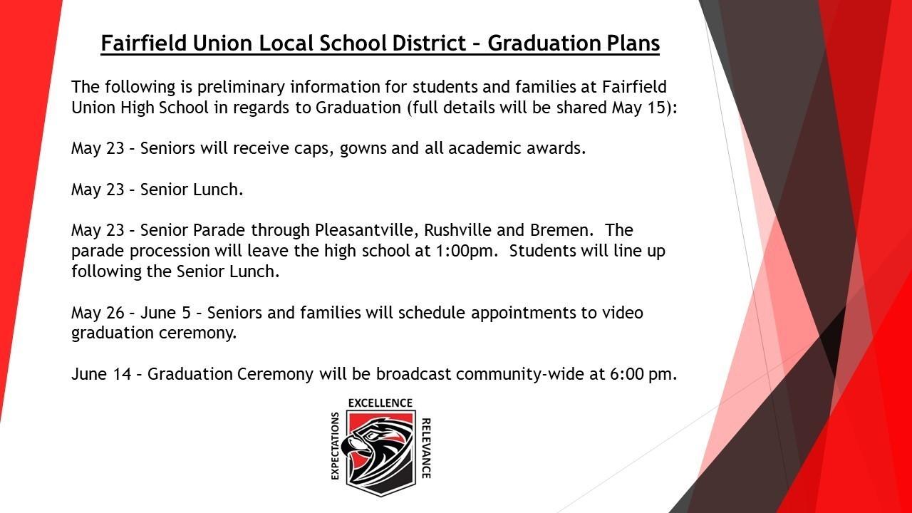 FUHS Graduation Plans