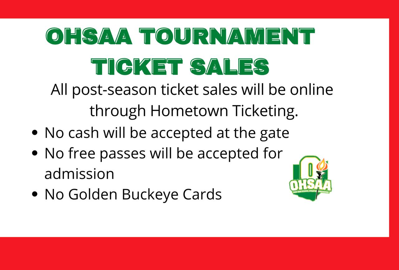 Tournament Ticket Info