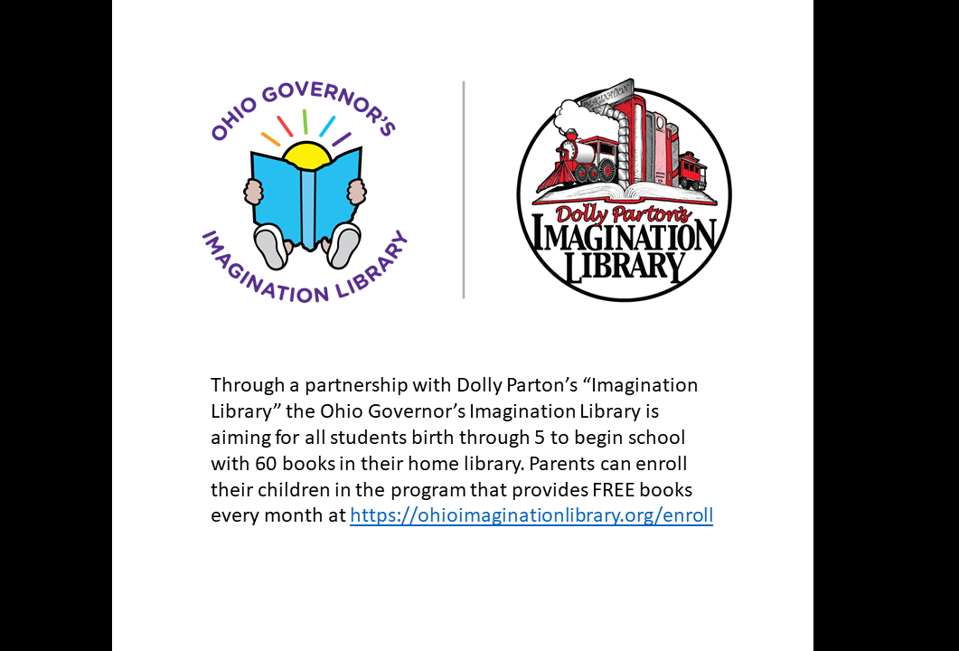 Imagination Library Information for Free Books