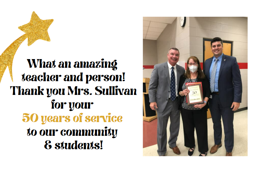 50 Years of Service - Elsie Sullivan
